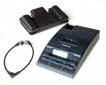 Philips LFH720 Desktop Mini Cassette Transcription Kit with LCD Counter  (Reconditioned)